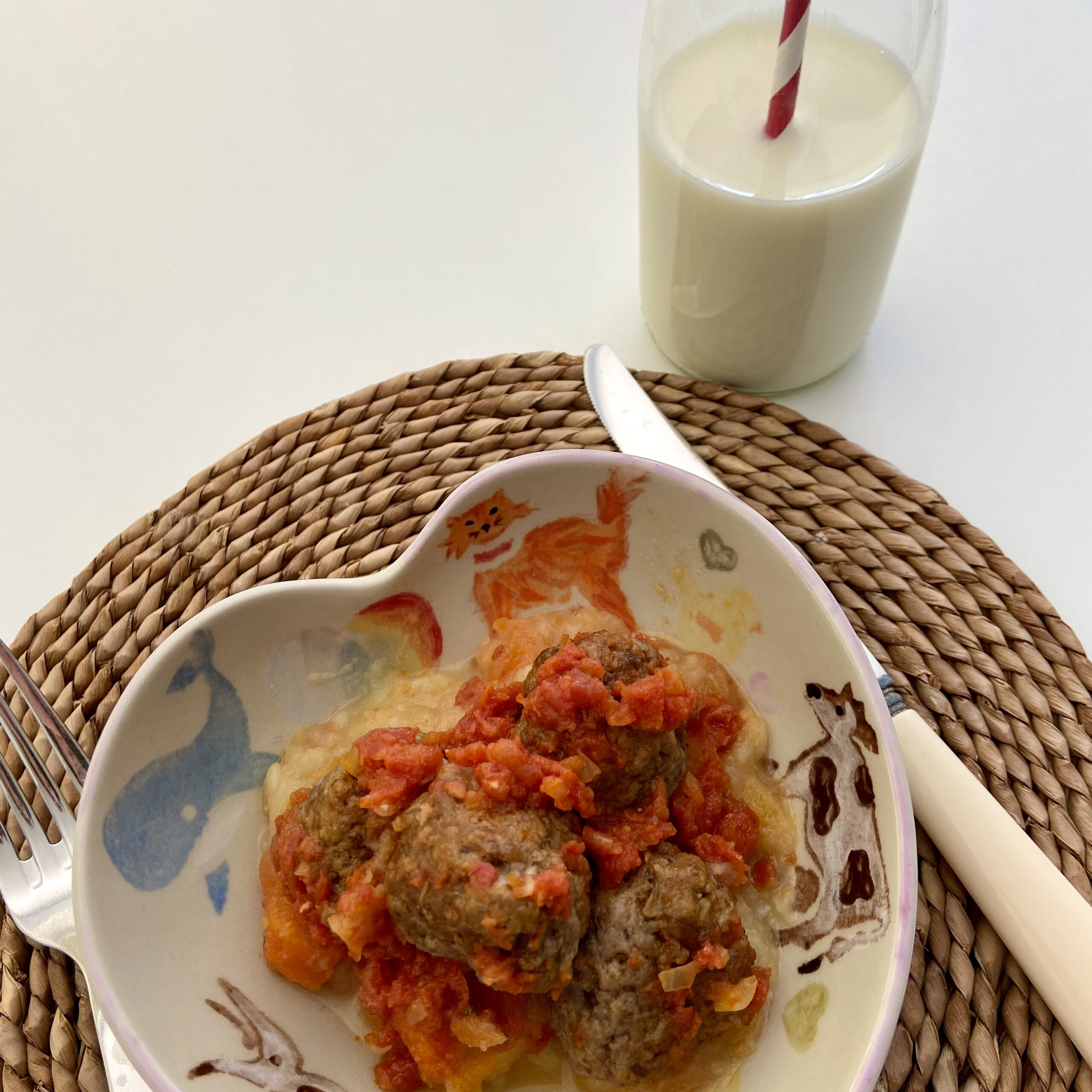 Ground Beef & Mushroom Meat Balls