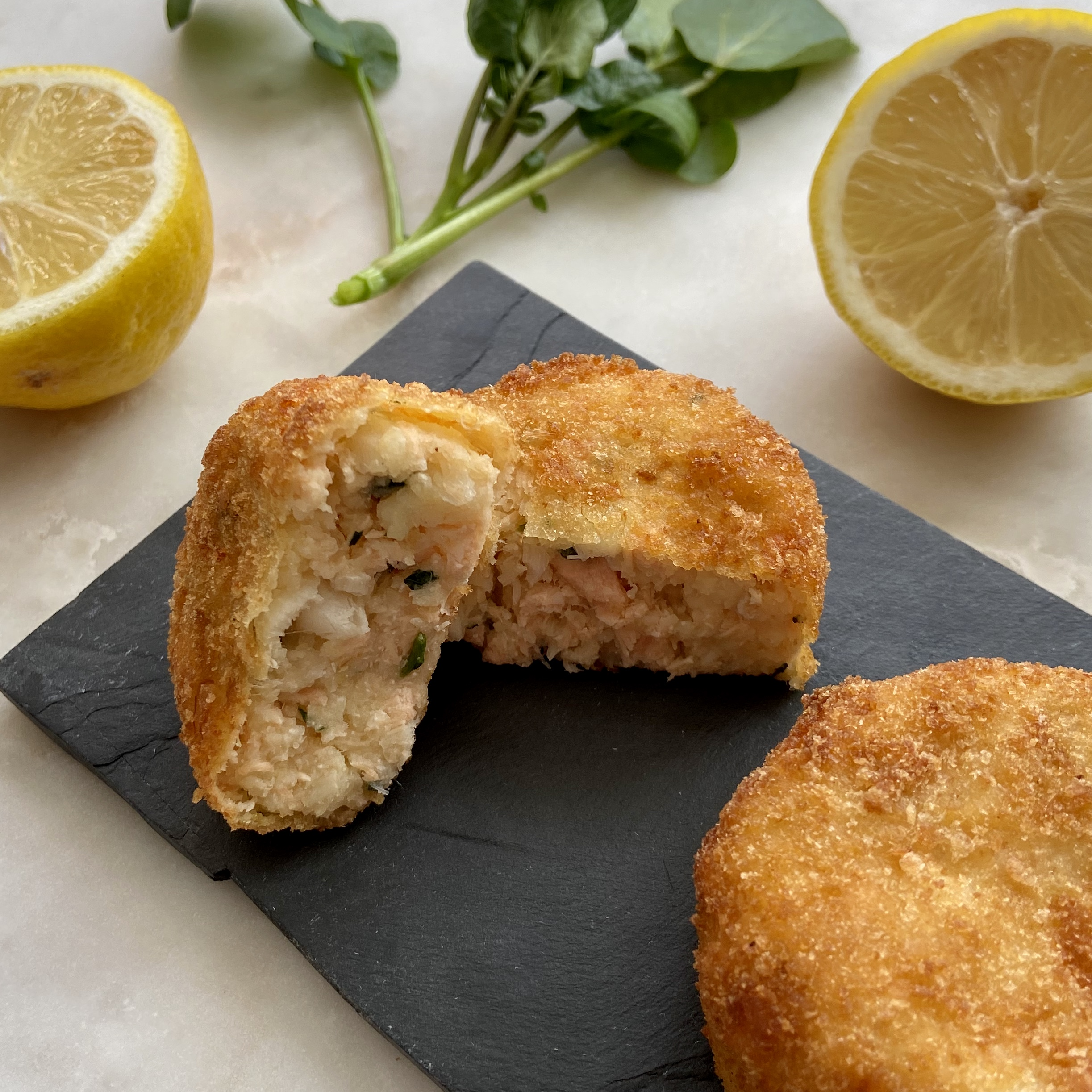 Salmon & Smoked Haddock Fishcakes